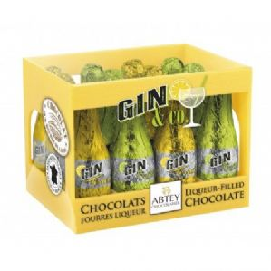 Abtey French Gin And Tonic Chocolate Liqueurs Crate 12's